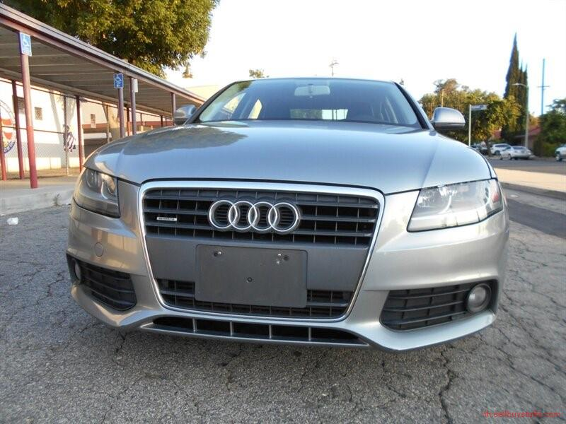 second hand/new: 2009 Audi A4 2.0T quattro 4-Door Sedan
